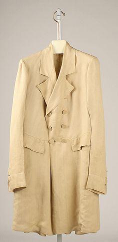 Frock Overcoat (men): cut similarly to a frock coat but longer 1950s Jacket Mens, Cargo Jacket Mens, Bomber Jacket, Leather Jacket, Victorian Men, Victorian Fashion, Vintage Fashion, Big Skirts, Frock Coat