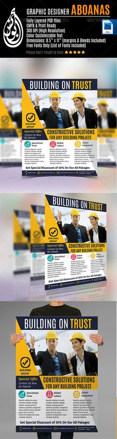 Home Repair Flyer Edit logo, Handy man and Fonts - handyman flyer template
