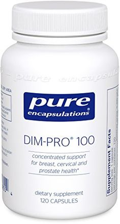 Pure Encapsulations  DIMPRO 100  Dietary Supplement with BioResponse DIM  120 Capsules -- Visit the image link more details. (It is an affiliate link and I receive commission through sales)