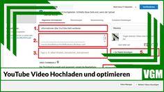 Infos über Video hochladen und bei YouTube optimieren #infos #videohochladen #videooptimieren #youtube
