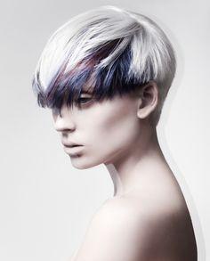 Short Dyed Hair