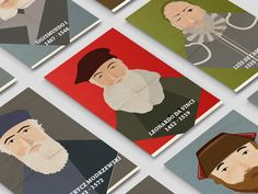 Renaissance Characters designed by The Landmark. Renaissance Era, Character Illustration, Character Design, Behance, Illustration