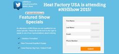 Here are some of our show specials available at #NHSHOW 2015!