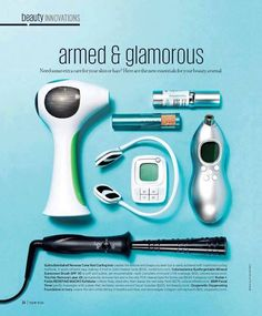 "New summer....NEW YOU!!! We are in yet ANOTHER magazine and we are ""Armed and Glamorous!! Http://lromano.myrandf.com"
