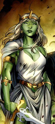 Jarella - Princess of K'ai and love of Bruce Banner and the Hulk. Marvel Girls, Comic Books Art, Comic Art, Falling Walls, Planet Hulk, Red Hulk, Hulk Smash, Hulk Marvel, Bruce Banner