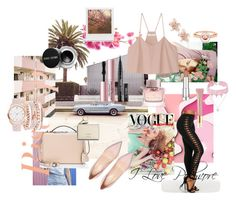 Baby Pink by kaoriihayashi on Polyvore featuring TIBI, Mark Cross, A.X.N.Y., Design Lab, Marie Mas, NAKAMOL, Maybelline, Burberry, AERIN and Too Faced Cosmetics