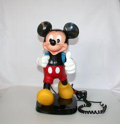 Vintage Disney Large Mickey Mouse Character Real by MEMsArtShop $90 2014