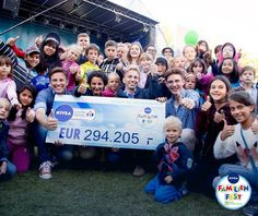 Das NIVEA Familienfest unterstützt das SOS-Kinderdorf: schöne Sache, schöne Website! ;-)