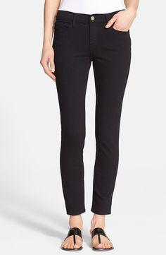 Frame Denim Crop Skinny Jeans
