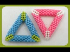 3D Peyote Triangle ~ Seed Bead Tutorials