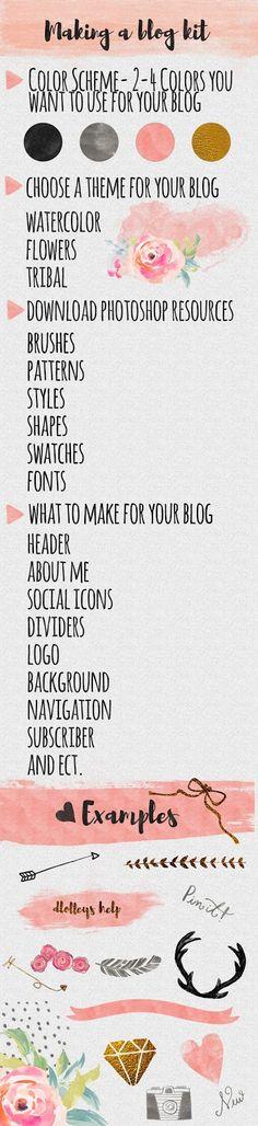 DLOLLEYS HELP: Making a Blog Kit