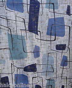 New Ideas Wall Paper Retro Atomic Age Mid Century Art, Mid Century Modern Design, Mid Century Style, Retro Fabric, Vintage Fabrics, Retro Wallpaper, Fabric Wallpaper, 1950s Design, Textile Design