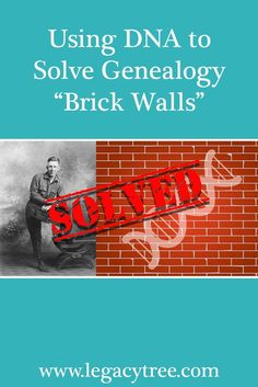 Using DNA to Solve Genealogy Brick Walls via Have an elusive ancestor that can't be found? We'll show you how using DNA to solve genealogy brick walls might be the answer!