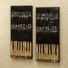 Would love to paint this on canvas then use my old piano keys for a frame