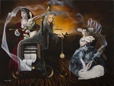 TRABAJO DE ARTE muestran por la serie: Androgyne Sueños - Margo M. Selski