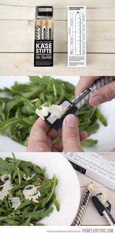 Innovative cheese grater…