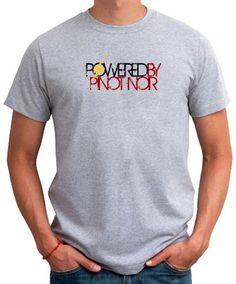 Powered By Pinot Noir Men T-Shirt