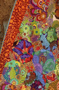 "looks like kaffe faccett fabric ""gardenchin2"""