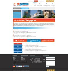 Domestic Holidays Landing page design Services.   http://softtrix.com/contact.php