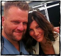 Eve Best and Stephen Wallem