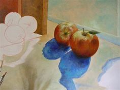 Two Apples by Denise Armstrong, via Behance