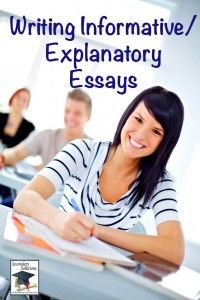 Blog Post: Teaching the Informative/Explanatory Essay
