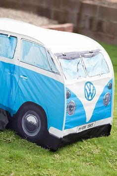 Volkswagen bus tent or fort