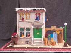 We can tell you how to get to Sesame Street...at least the gingerbread version.