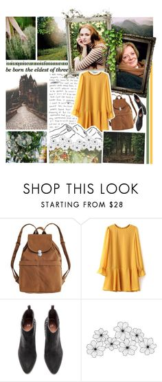 """""""sophie hatter"""" by forebodinq ❤ liked on Polyvore featuring Free Country, BAGGU, WALL and BOTBF"""