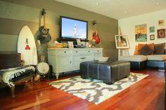 Salt Water Diary surfer home surfer decor surfer living room