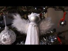 The 108 best diy christmas angel images on pinterest christmas diy christmas tree topper ideas diy projects craft ideas how tos for home decor with solutioingenieria Choice Image