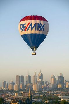 The RE/MAX hot air balloon is one of the most recognised corporate logos in the world.