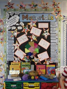 Brilliant materials display - alverton primary school cool things for teach Primary Science, Third Grade Science, Science Fair, Teaching Science, Science Activities, Science Projects, Science And Nature, Primary School, Primary Classroom