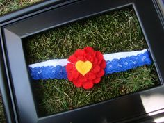 Colorado Flag Headband- Proceeds donated to Aurora shooting or Wildfire victims you choose. $5.00, via Etsy.
