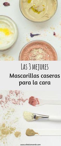 IMAGEN LAS 3 MEJORES MASCARILLAS CASERAS FACIALES