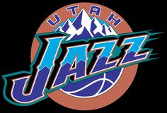 Utah Jazz Primary Logo on Chris Creamer's Sports Logos Page - SportsLogos. A virtual museum of sports logos, uniforms and historical items. Utah Jazz, Basketball Leagues, Basketball Players, Word Mark Logo, Event Logo, Nba Wallpapers, Retro Logos, History, Trey Burke