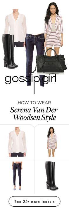 """Gossip girl - Serena Van Der Woodsen #2"" by maaramo on Polyvore featuring moda, Band of Outsiders, Elie Tahari, GUESS, Maison Margiela i Balenciaga"