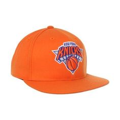 ff9e5bad477 NBA New York Knicks Flat Brim Flex Fit Hat