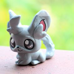 Minccino Pokemon inspired Littlest Pet Shop custom