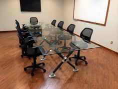 Modern Conference Table - Built with Kee Klamp
