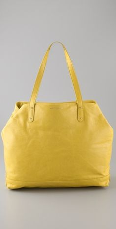 In line with my current yellow obsession - Tote... Rebecca Minkoff