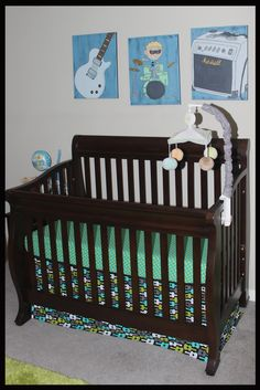 Michelle Kroll: Baby Boy Music Nursery