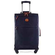 """Bric's X-Bag 30"""" Spinner (5,505 MXN) ❤ liked on Polyvore featuring men's fashion, men's bags, apparel & accessories and mens leather bags"""