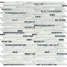 MS International Cristallo Interlocking 12 in. x 12 in. x 8 mm Glass Stone Mesh-Mounted Mosaic Wall Tile (10 sq. ft. / case)-SGLSIL-CRIS8MM - The Home Depot