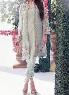 Farida Hasan Formal Wear Royal Dresses Collection 2015 10 This is classy Pakistani Fashion Party Wear, Pakistani Dresses Casual, Indian Fashion Dresses, Pakistani Dress Design, Indian Designer Outfits, Indian Outfits, Casual Dresses, Fashion Outfits, Pakistani Designers