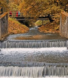 This photo from Warminsko-Mazurskie, East is titled 'Autumnal cascades'. Baltic Sea, Wild Life, Albania, Eastern Europe, Amazing Places, Niagara Falls, Holland, The Good Place, Portugal