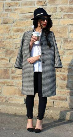 Classic '14 @Ann Taylor coat + a Stella & Dot giveaway! My Fash Avenue