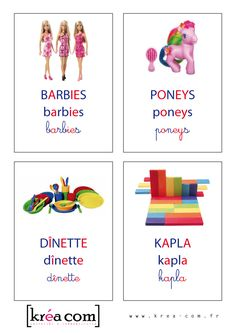 labels for toy boxes. Team Games, Social Stories, Learn French, Toy Boxes, Speech Therapy, Party Games, Playroom, Activities For Kids, Baby Kids