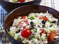 Griechischer Reissalat - smarter - Zeit: 40 Min. | eatsmarter.de