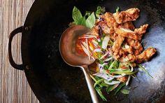 Malaysian hawker chicken chop with mango kerabu